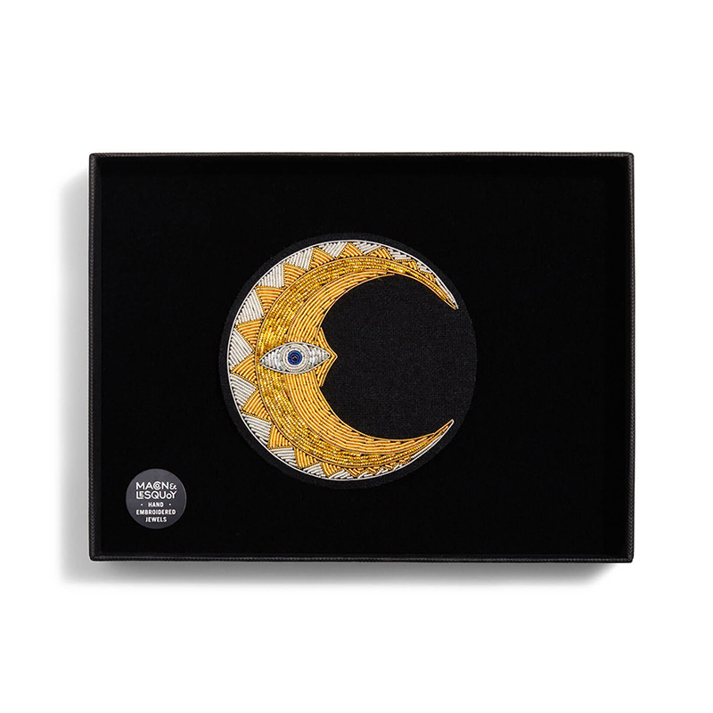 M&L Moon's crescent- Large brooch
