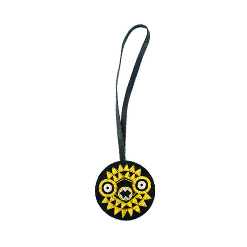 M&L Bag charm jewel_African Sun