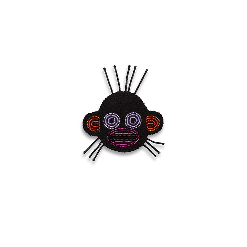 M&L Mini Monkey  brooch